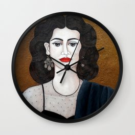 Amalia Rodrigues, the voice of the fado Wall Clock