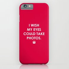 Eyes could take photos iPhone 6s Slim Case