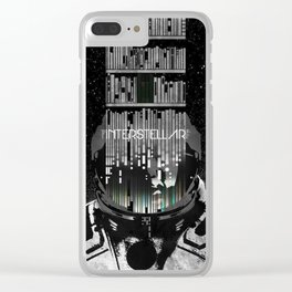 Interstellar Clear iPhone Case