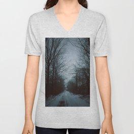 Dark Winter Unisex V-Neck