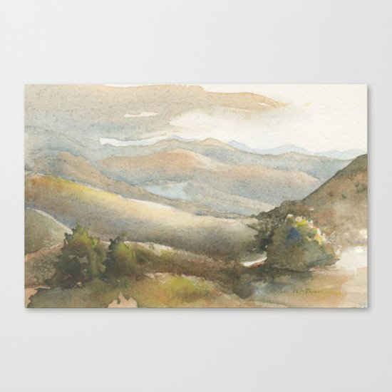 Berrenda Morning Canvas Print
