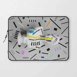 The Geometry of the Viewer (Confetti Edition) Laptop Sleeve