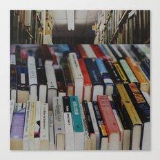 books on books Canvas Print