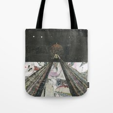 Everything I Need Is Where I'm Going Tote Bag