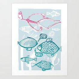 dream me Art Print