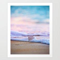 Beach Ball - Hawaiian Sunset Beach Art Print