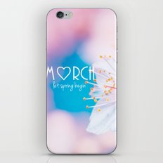 March iPhone & iPod Skin