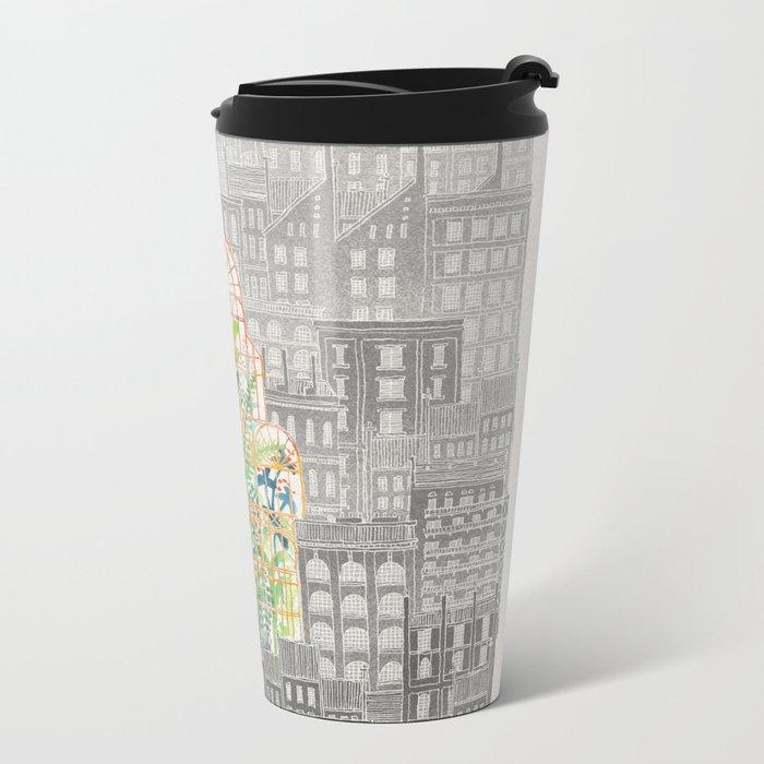 Eva Metal Travel Mug