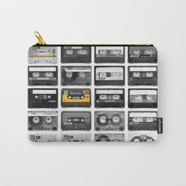 Retro Tapes Carry-All Pouch