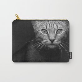 cat katz black white 4 Carry-All Pouch