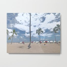 beachesreachheaven Metal Print
