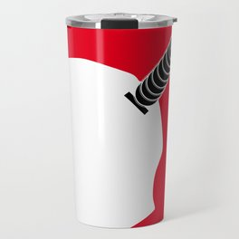 Illustrated new year wishes: #8 MAKE MONEY Travel Mug
