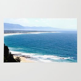 Looking North from North Wollongong Rug
