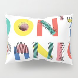 Don't Panic, it's Retro Pillow Sham