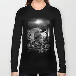 XIII. Death & Rebirth Tarot Card Illustration (Alternative Version) Long Sleeve T-shirt