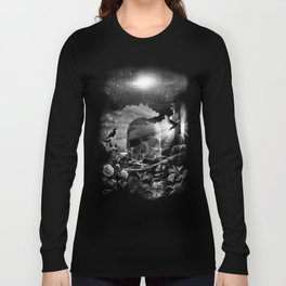 XIII. Death & Rebirth Tarot Card Illustration (Alternative Version) Long Sleeve T-shirt
