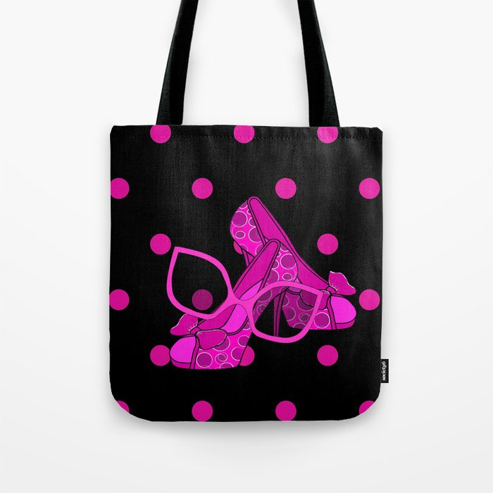 Chic In Pink - Fashion Tote Bag
