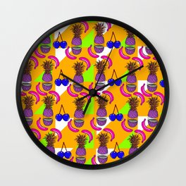 Tutti Fruity 2 Wall Clock