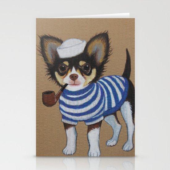 Chihuahua - Sailor Chihuahua Stationery Cards
