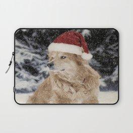 A Golden Christmas Laptop Sleeve