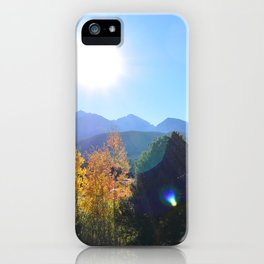 Somehow Inbetween iPhone Case