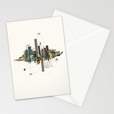 Collage City Mix 9 Stationery Cards