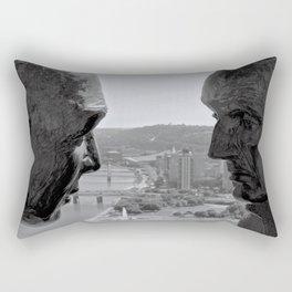 Washington & Guyasuta Rectangular Pillow