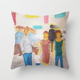 Contro-arte Throw Pillow