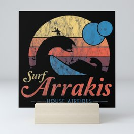 Surf Arrakis Mini Art Print