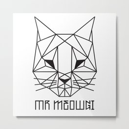 mr meowgi Metal Print