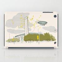 kris tate iPad Cases featuring Tate Modern by KlaraBowPiechocki