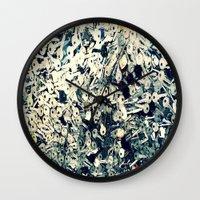 key Wall Clocks featuring Key by Sankakkei SS