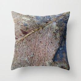 Decomposition Throw Pillow