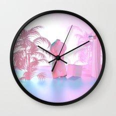 Vaporwave Wall Clock