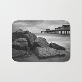 Southwold Pier and Rocks, Suffolk Bath Mat