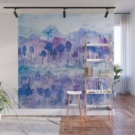 """""""Cold Reflections"""". Wall Mural"""