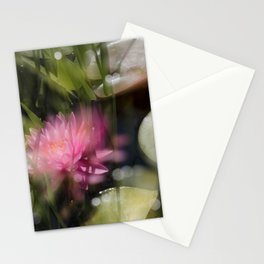 Magic Water Lily 3 Stationery Cards