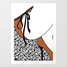 La femme n.19 Art Print