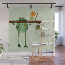 Hangin' Wall Mural