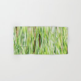 Cattails - Nature Photography Hand & Bath Towel
