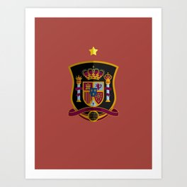WORLDCUP IS COMING! - The former champ Art Print