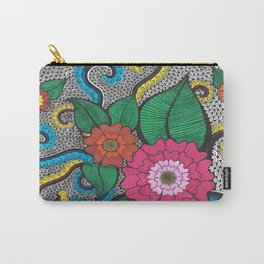 Octopus Flower (Color) Carry-All Pouch