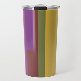 Shapes of Denver accurate to scale Travel Mug