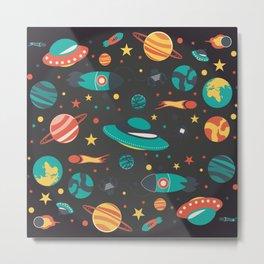 Space space baby Metal Print