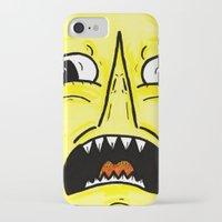 lemongrab iPhone & iPod Cases featuring LEMONGRAAAAAB by alexSHARKE