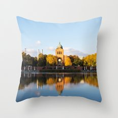 Engelbecken - Berlin Throw Pillow