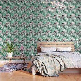 Absinthe Marble Wallpaper