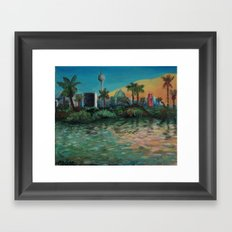 Oasis - Summer in Berlin Framed Art Print