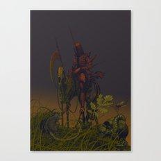 Horseman of Death Canvas Print