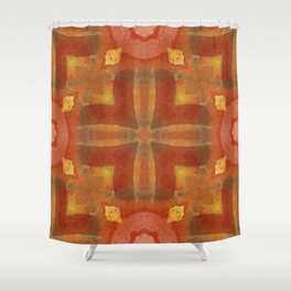 autumn colors abstract 5 Shower Curtain